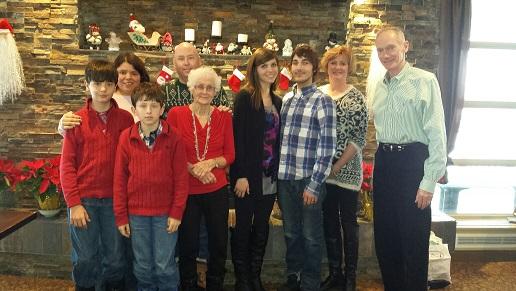 Family in Canada.