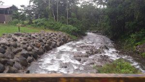Beautiful river in Costa Rica.