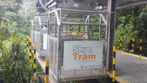 Sky Tram in Arenal, Costa Rica.