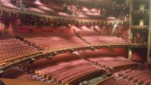 Dolby Theatre inside in Hollywood.