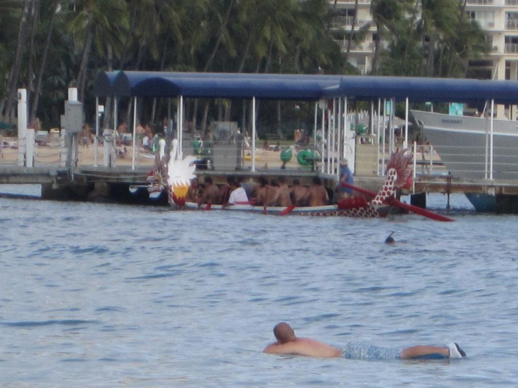 Lagoon near Ilikai Hotel.