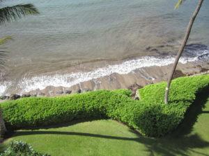 The beach at Maui Island Sands Resort.