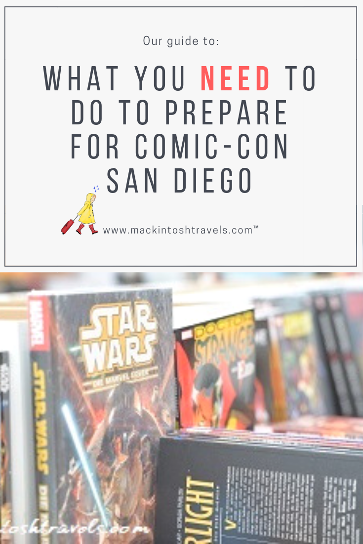 What you NEED to do to prepare for Comic-Con San Diego